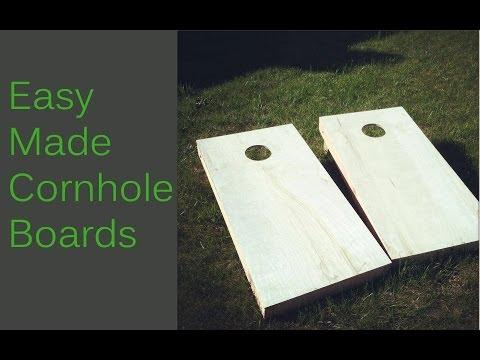 Easy Made Cornhole/Bean Bag Toss Boards