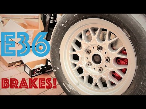 E36 Gets ALL NEW BRAKES!