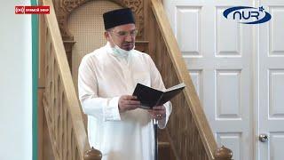 Прямая трансляция праздничной проповеди  муфтия Мукаддаса-хазрата Бибарсова