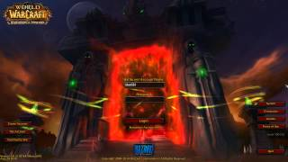 Warlords of Draenor New Login Screen and Music