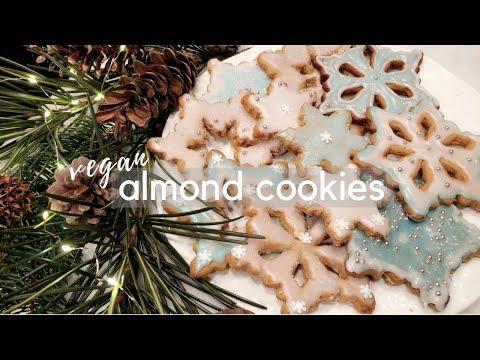 vegan almond cookies ~ easy & delicious ❄️