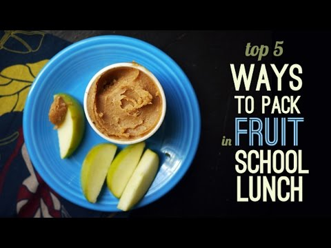 Top 5 ways to pack fruit for school lunch | One Hungry Mama