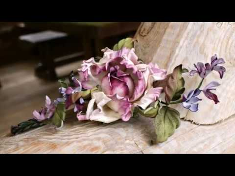 DIY Leather Flowers