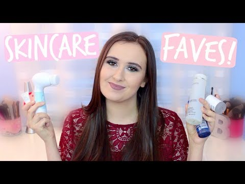 THE BEST SKINCARE PRODUCTS I'VE EVER TRIED! 2017 faves
