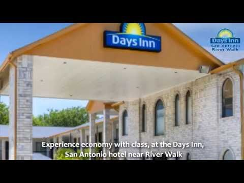 Relaxing Days Inn Hotel near Riverwalk San Antonio on I 35 North