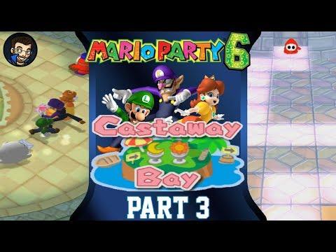 Mario Party 6 | Castaway Bay - Part 3/7