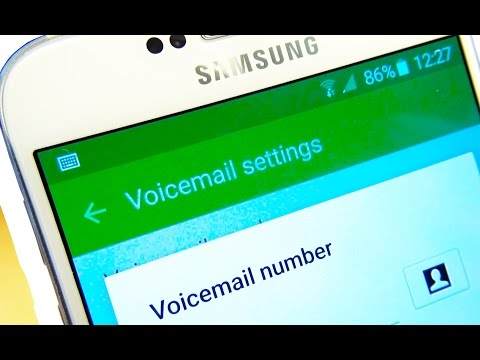 Samsung Galaxy S6 / S6 Edge Voicemail setup