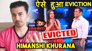 Bigg Boss 13   Himanshi Khurana EVICTED   BIG TWIST   This Is How She Got Evicted