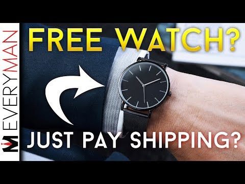 'FREE' Watches Are A CON | 'JUST PAY SHIPPING' Instagram Scam