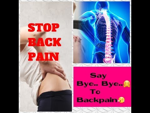 FIX LOWER BACK PAIN WITH TWO EASY EXCERSISES