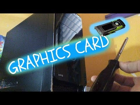 HOW TO: Change Graphics Cards in a Prebuilt PC