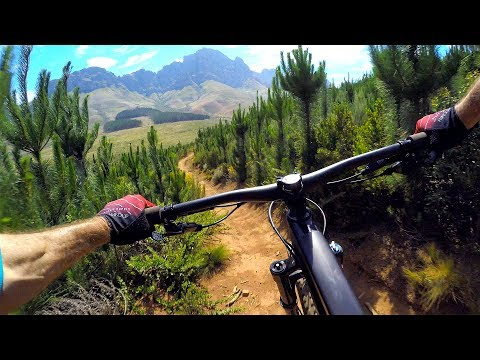 Welp, good luck topping this one | Mountain Biking Jonkershoek in South Africa