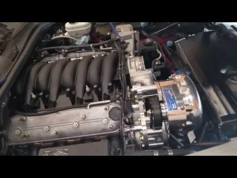 Installing Intake Manifold & Throttle Body & More Supercharger Bracket Issues. C6 LS3 Build. Part 43