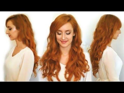 COPPER RED Hair Extensions -- Foxy Locks Review & Dying