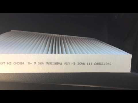 How to replace a jeep grand Cherokee cabin filter