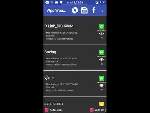 How To Hack Wifi Key/Password On Android  