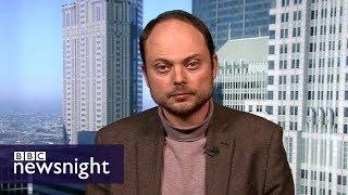 'I was poisoned twice': Vladimir Kara-Murza – BBC Newsnight