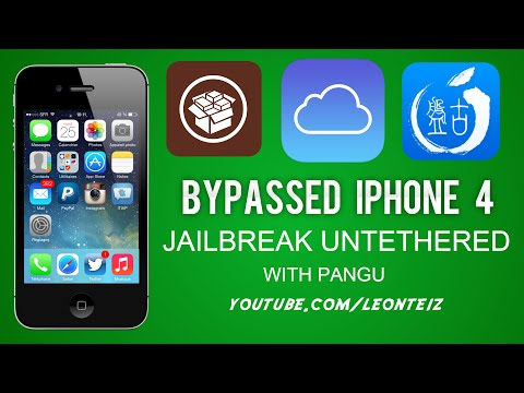 iPhone 4 Bypassed - Jailbreak Untethered with PANGU (No PC BOOT)