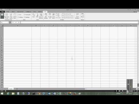 How to edit the quick access toolbar in Microsoft Excel 2013