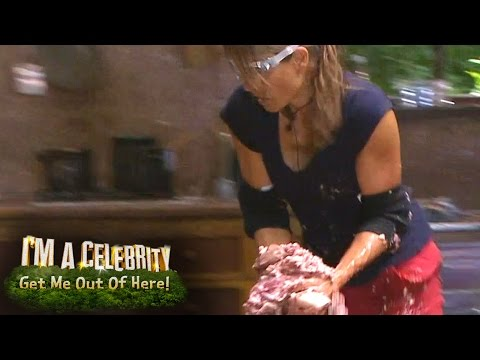 Melanie Sykes Braves Hell's Kitchen Bushtucker Trial | I'm A Celebrity...Get Me Out Of Here!