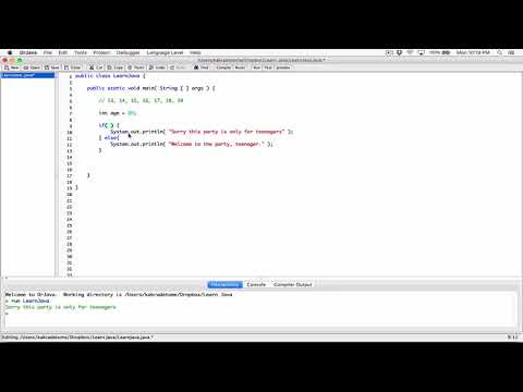 91. More practice with logical operators - Learn Java