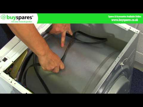 How to Replace a Belt on a Beko Tumble Dryer