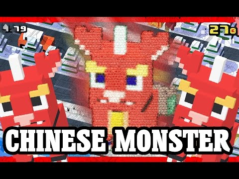 CROSSY ROAD CHINESE MONSTER Unlock! | NEW Secret Characters of Chinese New Year Update 2016