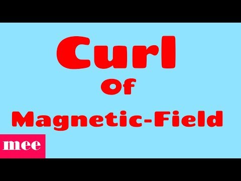Curl of magnetic field