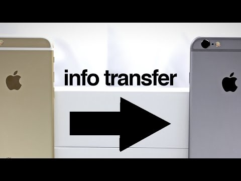 How to Transfer all info from Old iDevice to New iDevice - iPhone iPad iPod