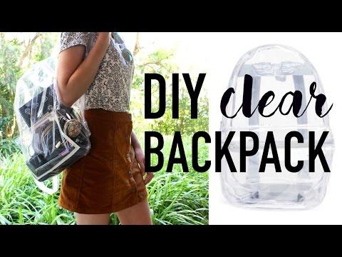 DIY Transparent Bag / Backpack ~ DIY DUPES #3