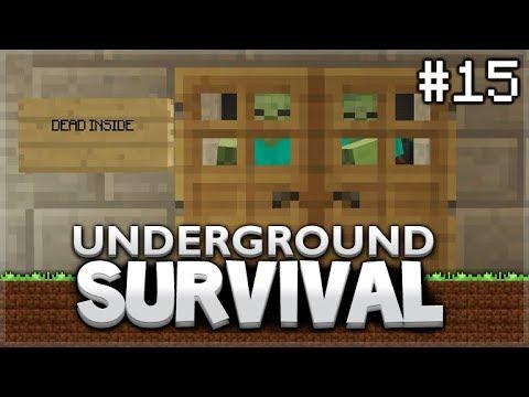 Minecraft Xbox - Underground Survival - The Wither-Boss room! Episode 15