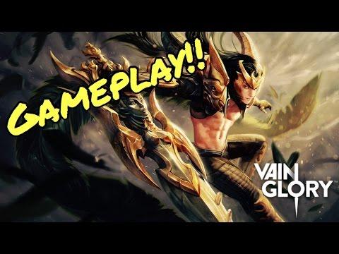 Vainglory - 2.4 *NEW* CHAMPION'S FATE BLACKFEATHER SKIN!!