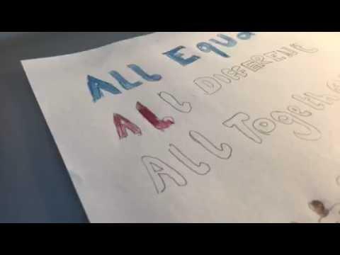 Anti Bullying Week Poster / #ABW17 / Time lapse