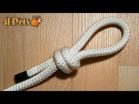 DIY: Tying A Scaffold Knot