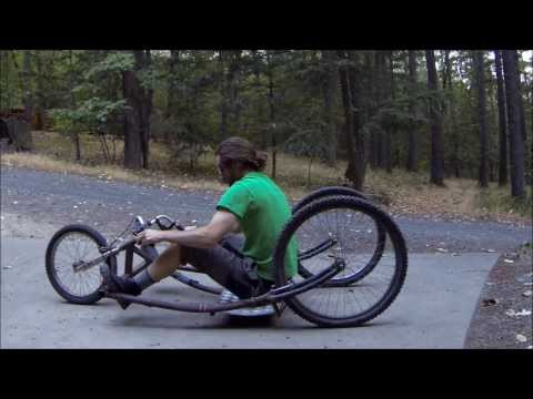 G.P.V. (Gravity Powered Vehicle) off-road, soap box, three wheeler, made with bike parts