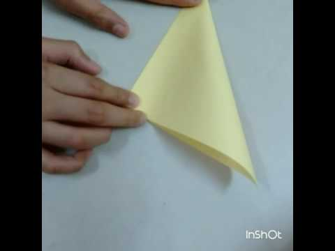 How to make water bomb base | Square paper origami