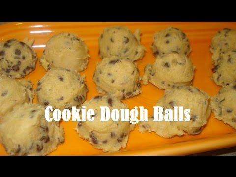 Easy No-Bake Cookie Dough Balls