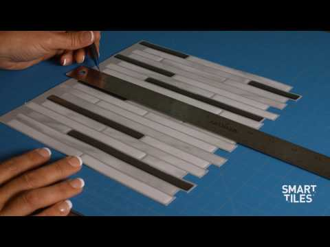 How to Cut Smart Tiles Around an Electrical Outlet