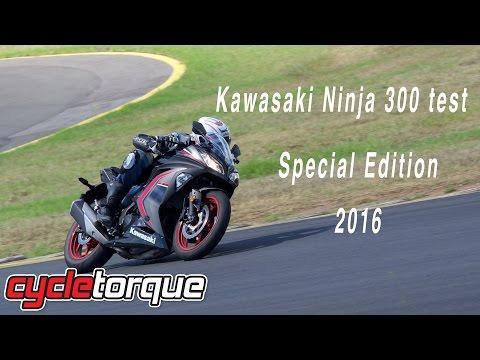 2016 Kawasaki Ninja 300 Special Edition bike test and review LAMS