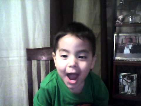 Jr's Reaction to Santa's Email!
