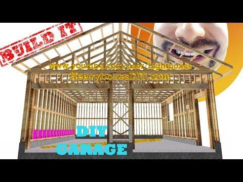 Garage Build - Framing | BUILD IT | How to Frame a Garage