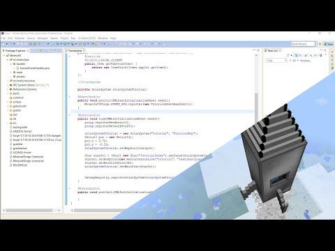 Galacticraft API Tutorial / Forge Modding