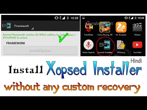 Install Xposed Installer without custom recovery 2016 [Hindi / Urdu]