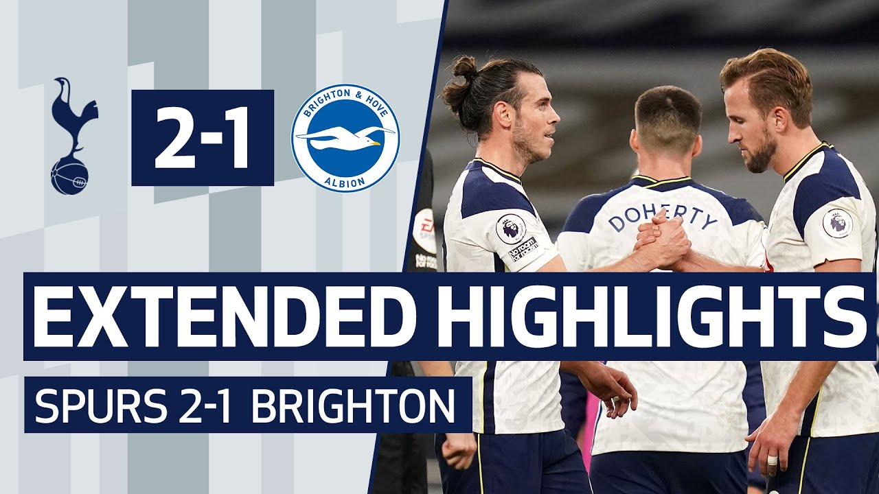 EXTENDED HIGHLIGHTS | SPURS 2-1 BRIGHTON