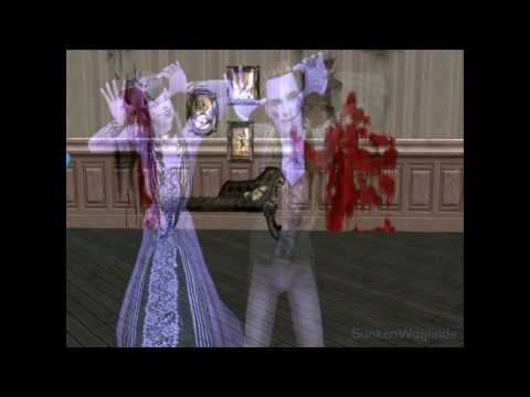 Caramell Dancen Ghost Scare - Sims2