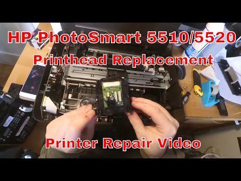 HP Photosmart 5510/5520 Printhead Replacement