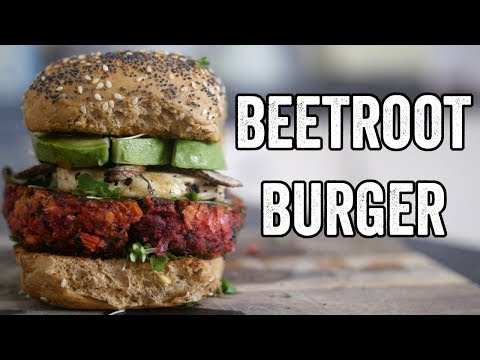 Beetroot burger recipe