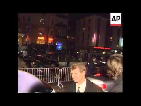 Switzerland - Arrival Hillary Clinton
