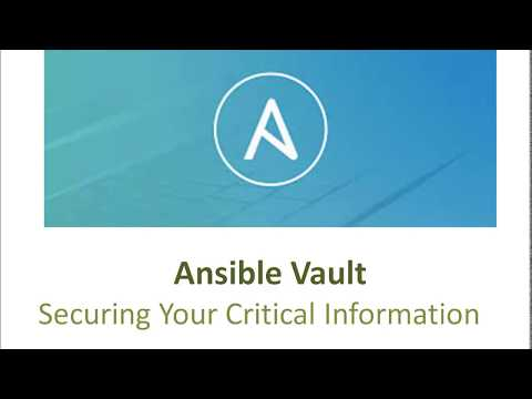 DevOps | Automation | Ansible Vault | Securing Your Critical Information