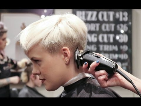 Undercut Pixie / How I Get My Haircut!